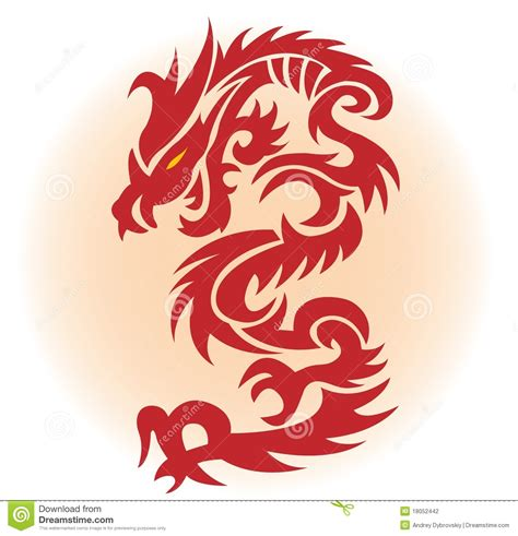 red dragon stock photography image 18052442