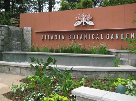 Atlanta Botanical Garden Address with Atlanta Botanical Gardens Address Atlanta Botanical Gardens Visitor Center Fountains 5 Tips
