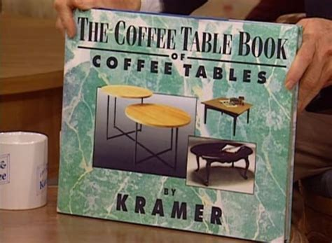 Kramer The Coffee Table Book That Becomes A Coffee Table Kramer Coffee Table Book