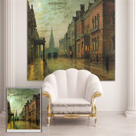 paintings of curtains pag roller blind street scene roller shutters print