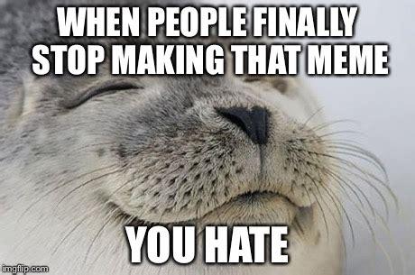Seal Meme Generator - satisfied seal meme imgflip