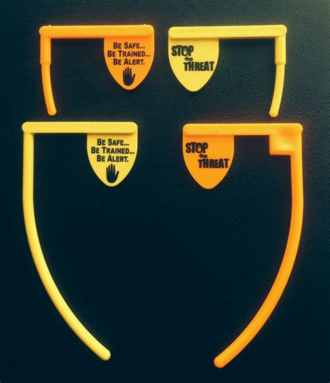 The Threat set of 4 chamber flags stop the threat
