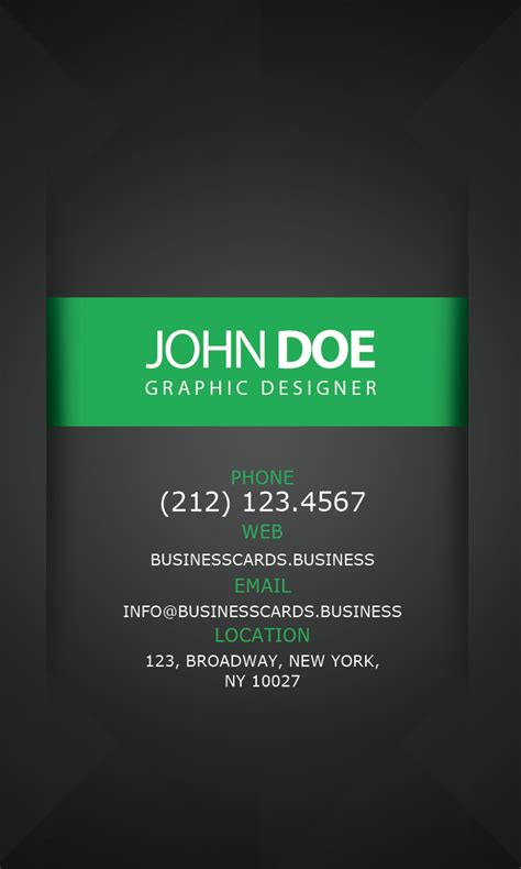 graphic designbusiness card template free business card psd template for graphic designer