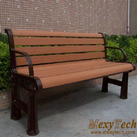 bench material china composite wood material bench park street