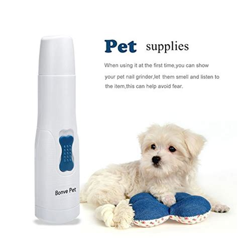 Electric Pets nail grinder electric gentle pet nail trimmers best paw clippers grooming tools for small