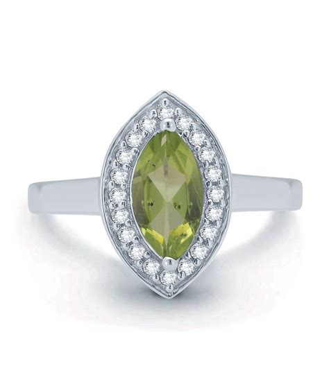 leo silver ring green buy leo silver ring