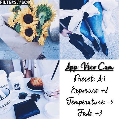 instagram graphic tutorial tumblr 50 vsco cam filter settings for better instagram photos