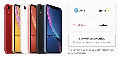 iphone xr now available sim free in the united states techristic