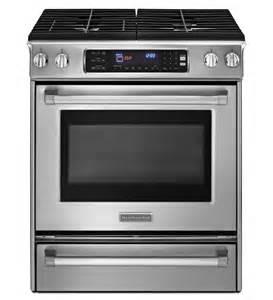 kitchen aid slide in range 30 inch 4 burner gas slide in range pro line 174 series