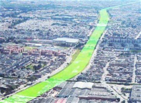 avenida la conejera bogota proyecto alo se muestra como el corredor verde urbano de