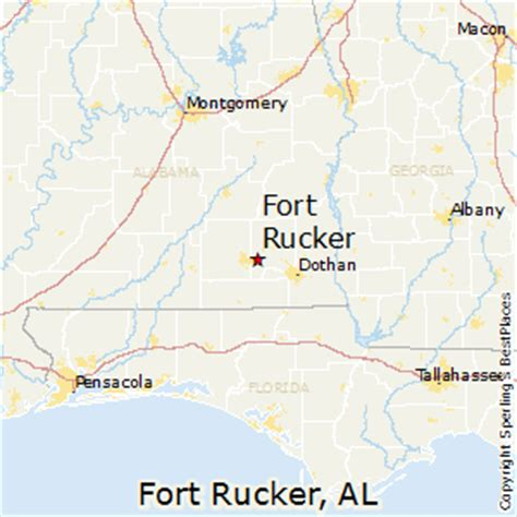 fort alabama map best places to live in fort rucker alabama