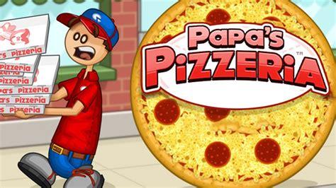 juegos de pisas papa s pizzeria las pizzas m 193 s ricas del mundo youtube