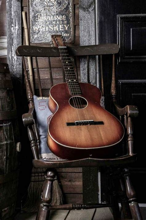 guitar  chair iphone  wallpaper iphone