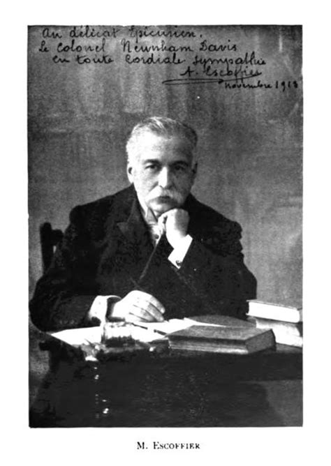 cuisine escoffier opera escoffier and the of the