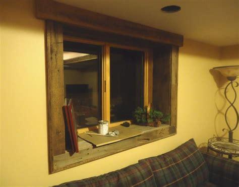 wood basement windows barnwood trim windows barnwood basement accents