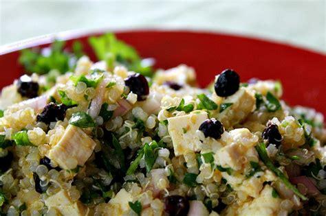 Detox Salad Recipe Currants Parsley by Curried Quinoa Tofu Salad With Currants Shallots Parsley