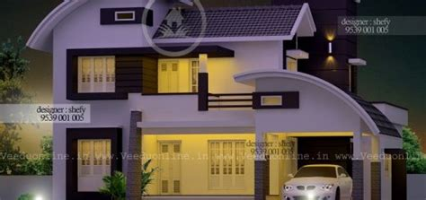 1850 square 4 bhk contemporary budget home design shefy max archives veeduonline