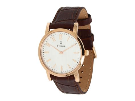 bulova mens dress 97a106 at zappos