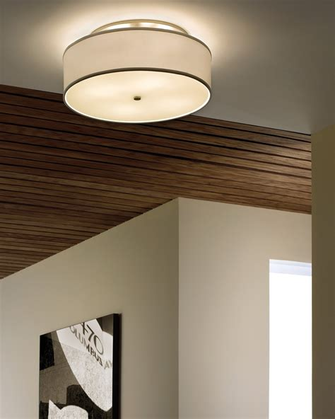 Ceiling Hallway Lights 2thousand Degrees 700tdmulfml Mulberry Contemporary Semi Flush Mount Ceiling Light Large
