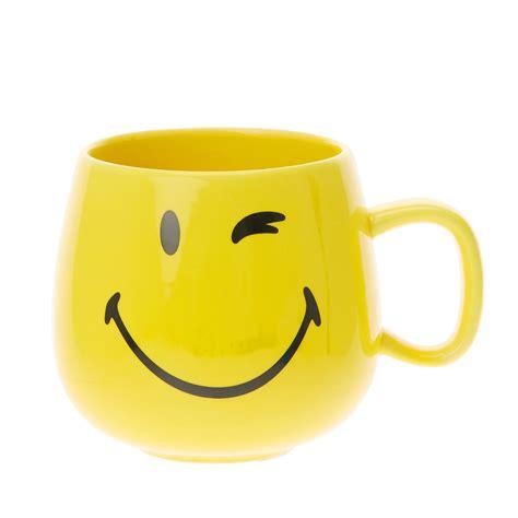 Smile Mug tasse avec visage souriant de le monde des smileys