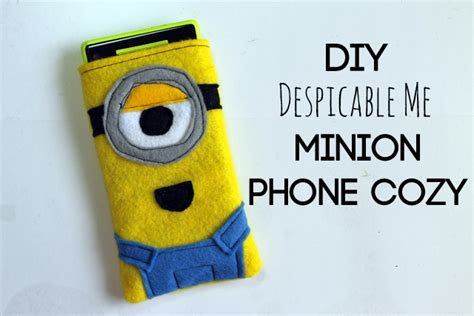 minion diy crafts diy craft despicable me minion iphone cover diy crafts