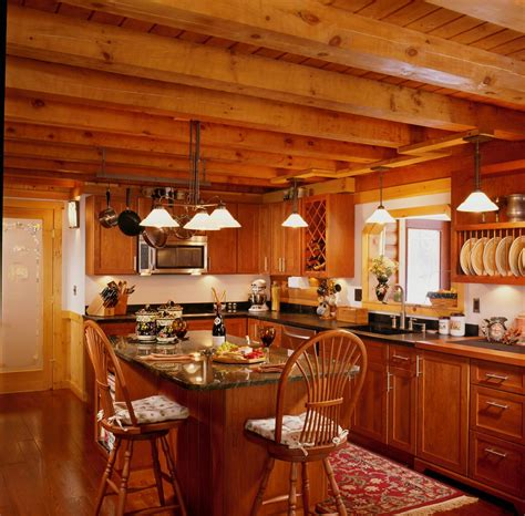 Log Home Kitchen Design Ideas log home kitchens luxury log cabin home luxury log cabin