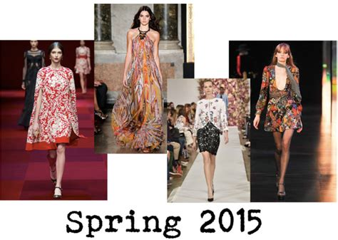 News Stylecom Trend Report For 2007 by Trend Report Florals Get An Update For 2015