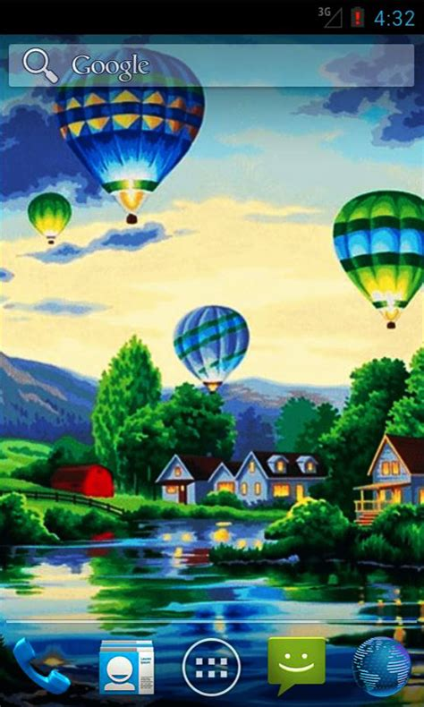 android wallpaper orientation air balloons live wallpapers free android app android