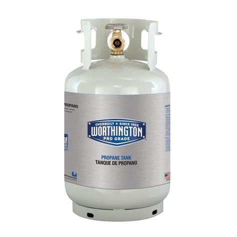 worthington pro grade 11 lb empty propane tank 281165