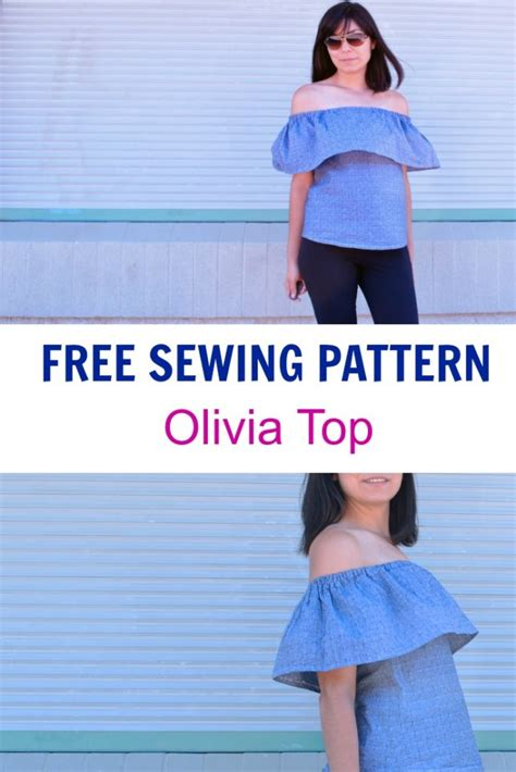 Free Sewing Patterns And Tutorials On The Cutting Floor | free sewing pattern oliva top on the cutting floor
