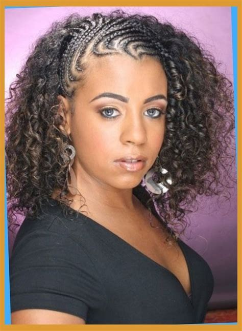 hairstyles with some braiding curly braids for black braid styles 3 black hair
