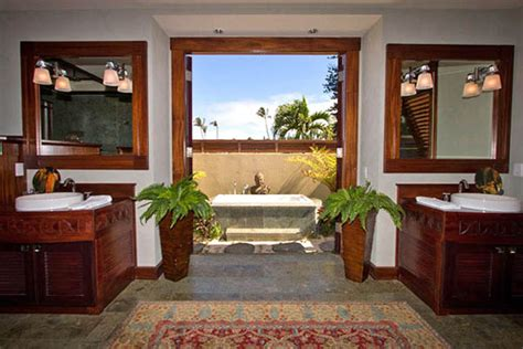 hawaiian style bathroom tropical decorating ideas 20 tropical home decorating