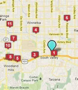 tarzana california map tarzana ca hotels motels see all discounts