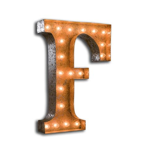 French Armchairs For Sale F Vintage Letter Light With Bulbs