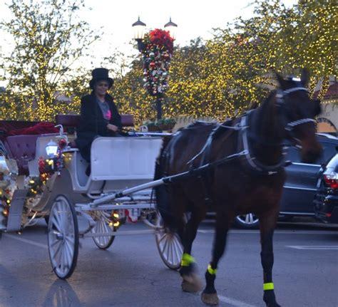 light carriage rides highland park highland park lights