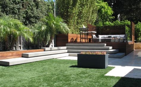 Residential Room Dividers grounded modern landscape architecture contemporary