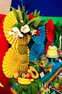 Tropical Theme Decor - pinterest