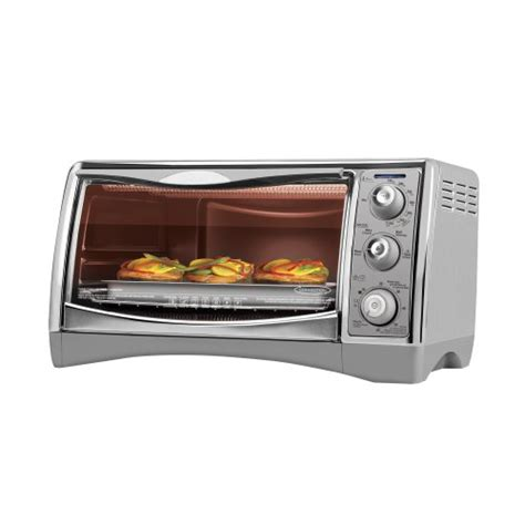 Sausage In Toaster Oven oven toaster black decker large pizza food decker broil convection ebay