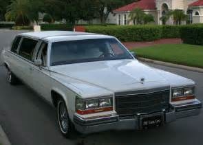 1986 Cadillac For Sale 1986 Cadillac Fleetwood Brougham D Elegance Stretch Limo