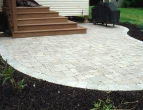 Cost For Paver Patio Concrete Patio Pavers
