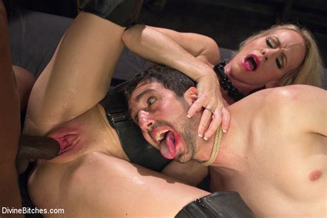Simone Sonay Devours Big Black Alpha Cock Cuckolding Her Beta Slave Kink Divine Bitches