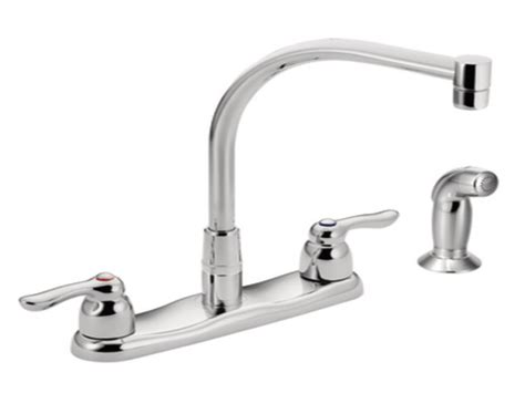 Moen Double Handle Kitchen Faucet Repair | kitchen faucet handle moen shower handle replacement moen