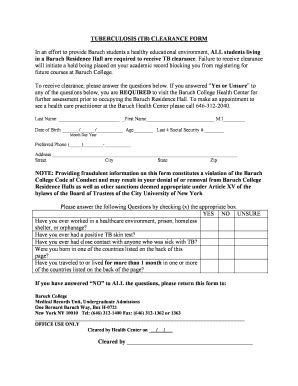 printable tb questionnaire employee tb skin test form bing images