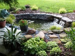 Backyard Pond Ideas Small Beautifying The Backyard Garden By The Application Of Small Backyard Pond Ideas Backyard Fish