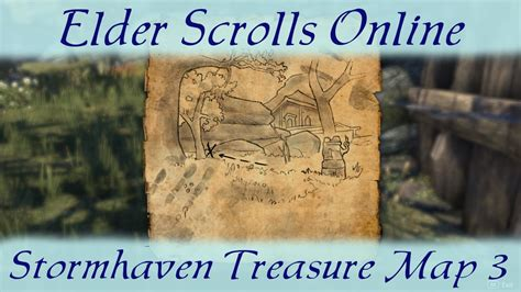stormhaven treasure map stormhaven treasure map 3 iii elder scrolls eso