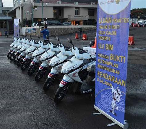Patch Rubber Jatanras Polda Metro Jaya diler wahana berikan 10 vario buat praktik sim carmudi indonesia