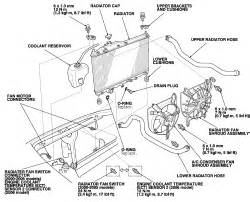 repair guides engine mechanical components radiator