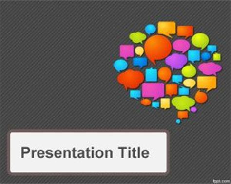 communication ppt themes free download communications strategy powerpoint template
