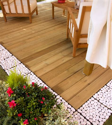 pavimentazione esterna giardino pavimentazione esterna in legno bricoportale fai da te
