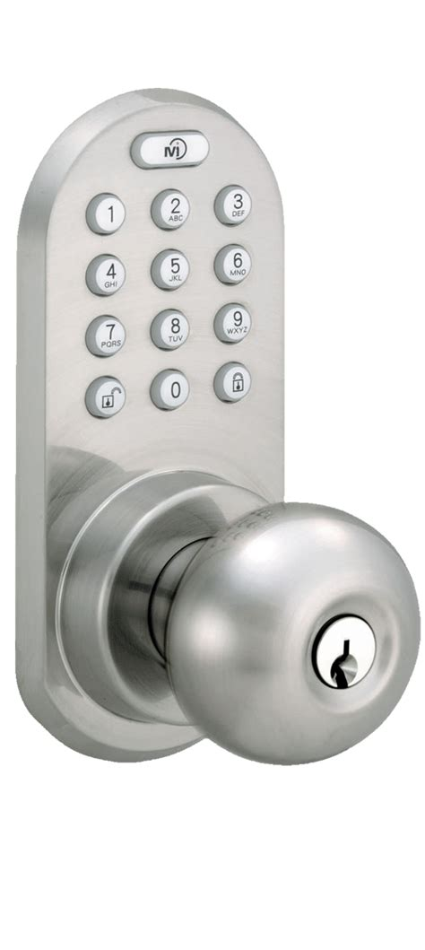 Bluetooth Front Door Lock Milocks Blekk 02 Keyless Entry Knob Door Lock With Bluetooth And Electronic Digital Keypad